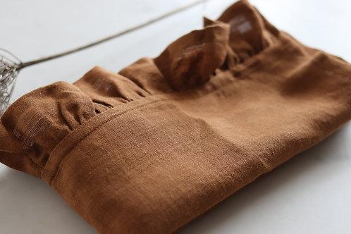 LINEN TEA TOWEL- CINNAMON