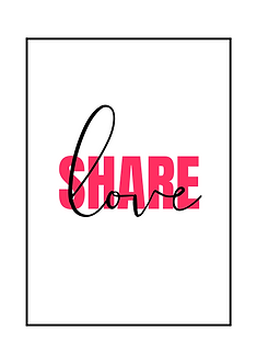 Share Love Poster
