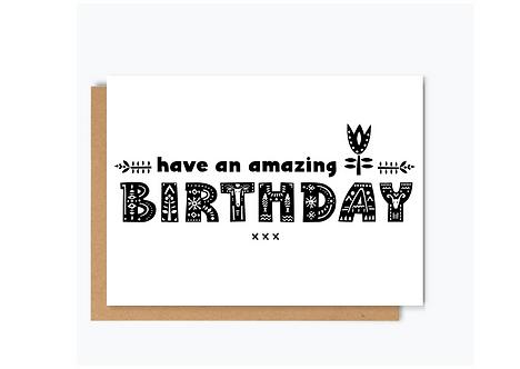 Nordic Birthday