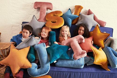 Velvet Letter Cushion