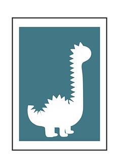 Happy Dino Poster