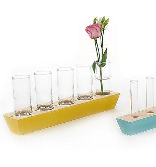 Long Row Vase
