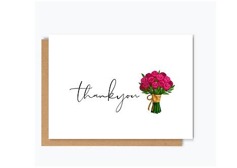 THANK YOU -PEONY