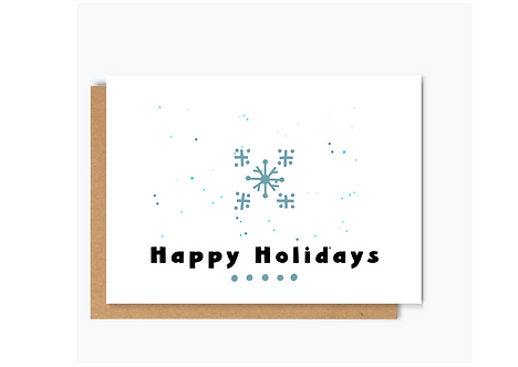 NORDIC XMAS -SET OF 4 CARDS
