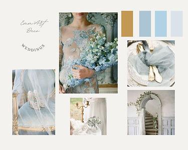 Inspi Wedding Blue Doré