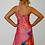 Thumbnail: Pink One Shoulder Maxi Dress
