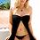 Thumbnail: Black Chiffon Sexy Bikini Cover Up