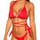 Thumbnail: Red Criss Cross Bikini