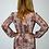 Thumbnail: Snakeskin Plunge Celeb Style Dress