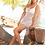 Thumbnail: Whtie Fringe Beach Dress by Mapale