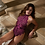 Thumbnail: Dreamgirl Mulberry Thong Lace Teddy