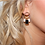 Thumbnail: 'Arabella' Vintage Style Earrings