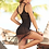 Thumbnail: Black Fringed Beach Cover Up By Mapale