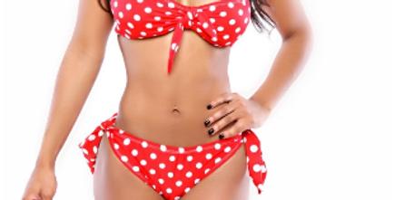 Red Polka Dot Bikini