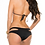 Thumbnail: Black Halterneck bikini with gold coin detailing