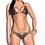 Thumbnail: Snake Print Scrunch Bum Triangle Bikini