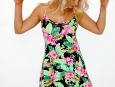 Floral Midi Beach Dress
