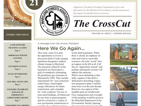 MFA's Winter Issue of The CrossCut Available Now
