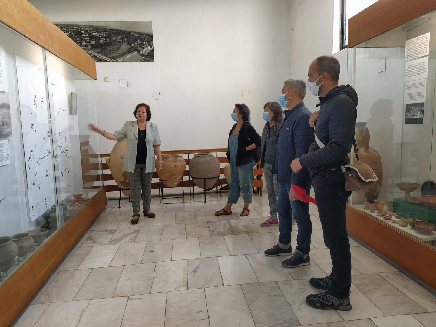 Френски художници на посещение в музея