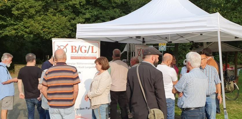 B/G/L-Infostand in Wiescheid