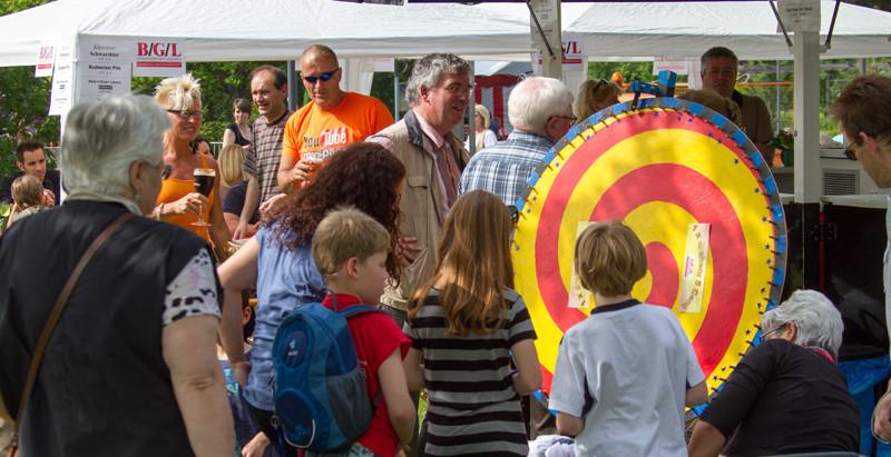 B/G/L auf dem Kinder- und Familienfest im Freizeitpark