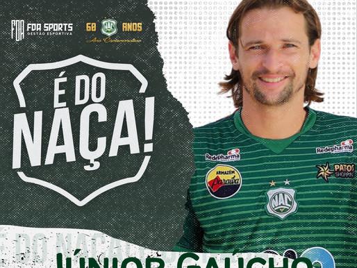 Volante Júnior Gaúcho assina com o Naça para jogar Paraibano 2021