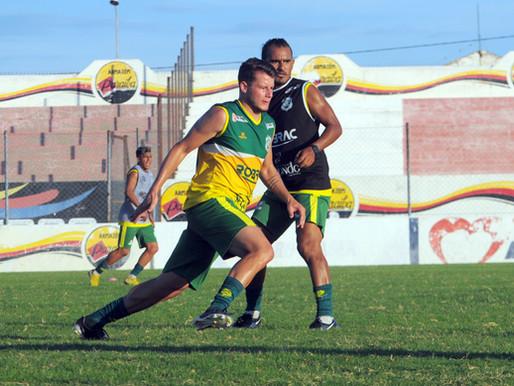 Nacional finaliza semana de treinos e se prepara para amistoso contra o Sousa