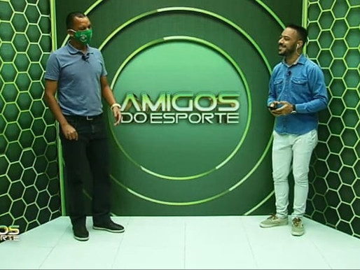 Treinador Warley é entrevistado na estreia do Amigos do Esporte da TV Sol
