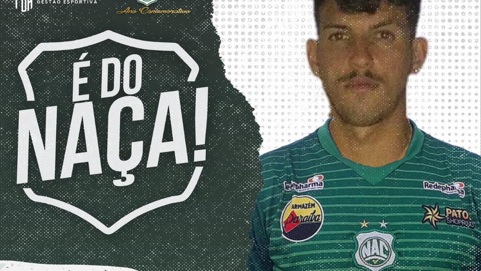 Volante Erick é anunciado no Nacional para disputar Paraibano 2021