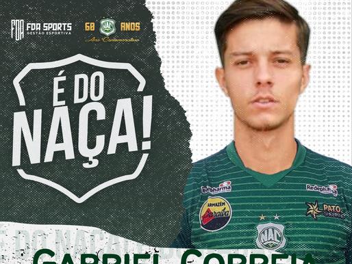 Ex-base do Palmeiras, Gabriel Correia assina com o Nacional para temporada 2021 do Paraibano
