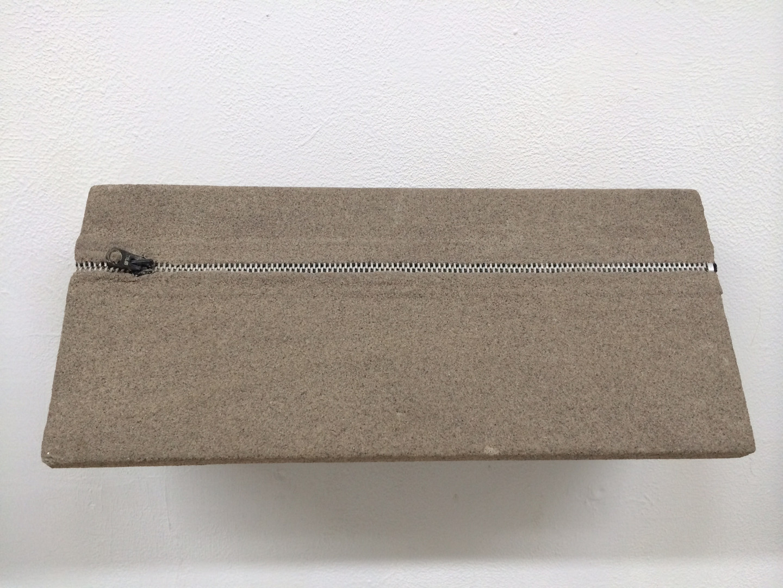 Untitled (Sand Zipper)