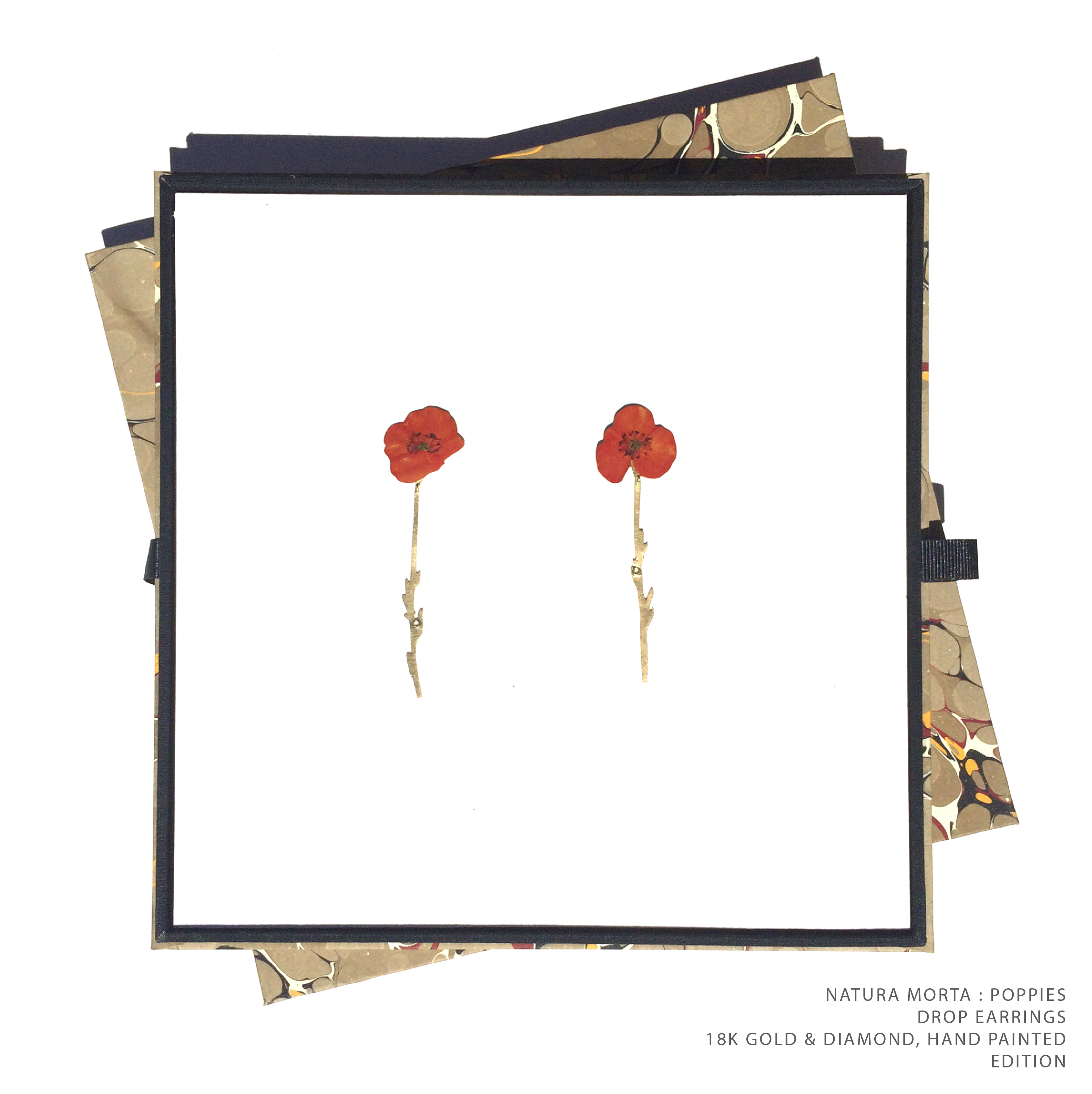 Poppies Drop Boxed TEXT