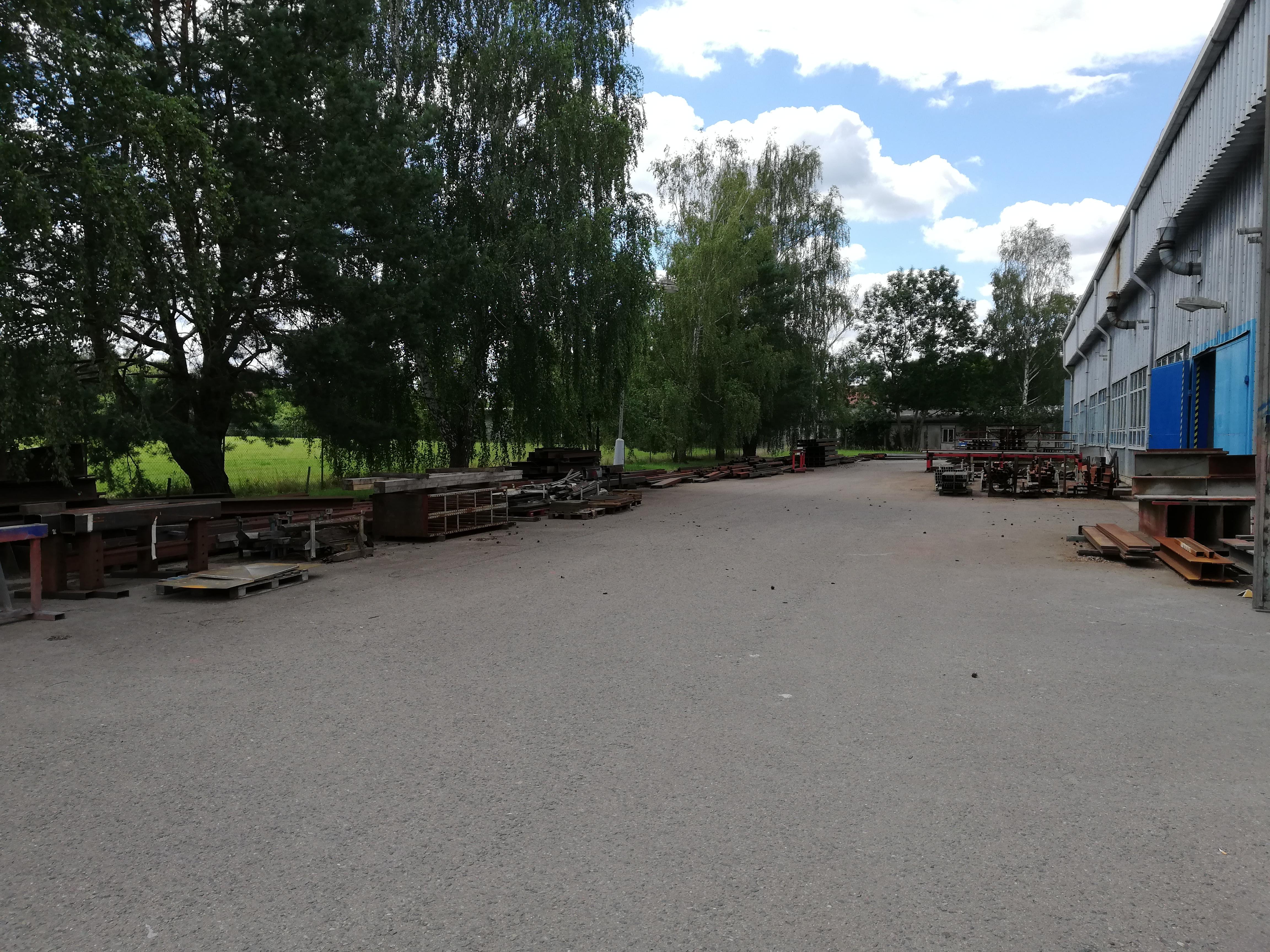 Skladovací prostory Kladruby nad Labem