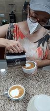 Cursos de Latte Art, Aprendiendo Latte Art en Café, Figuras de café