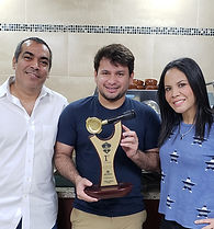 Carlos Guerra Campeon Nacional de Honduras entrenado en Academia Barista Pro El Salvador