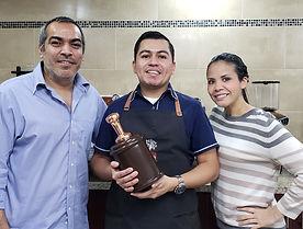 Marvin Palacios, entrenador de Academia Barista Pro Gana 3er Lugar en Competencia de Baristas de El Salvador