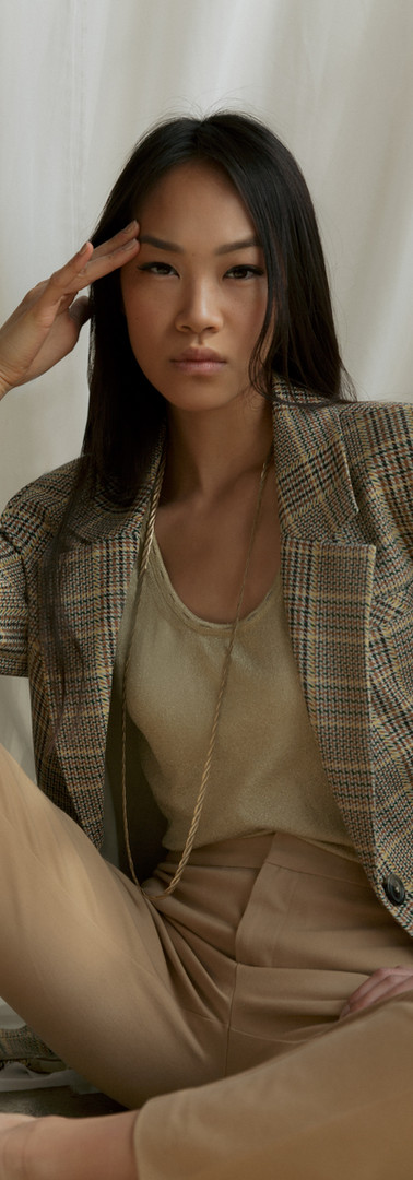 Make-Up: Joanne Kim Muse: Chloe Yu Photographer: Ana Saavedra Stylist: Gabriel Castorena