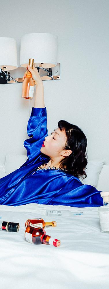 Make-Up: Joanne Kim Muse: Yueyao Li Photographer: Alina Grafkina Hair: Lydia Ouellette Stylist: Jorien Iris Geelen Publication: Vulkan
