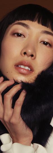 Make-Up: Joanne Kim Muse: Christina Wen Photographer: Elaine Torres