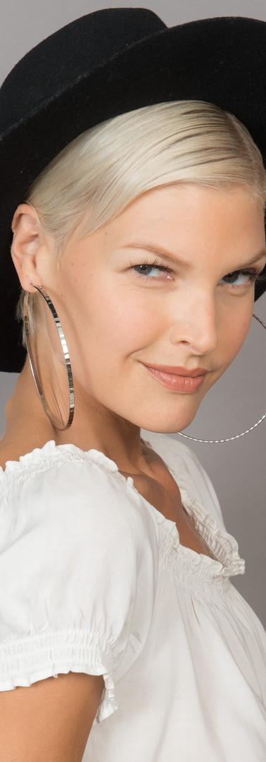 Make-Up: Joanne Kim, Hair: Preyanka Kanda,  Model: Andrea (LA Model),  Photographer: Leslie Pedraza