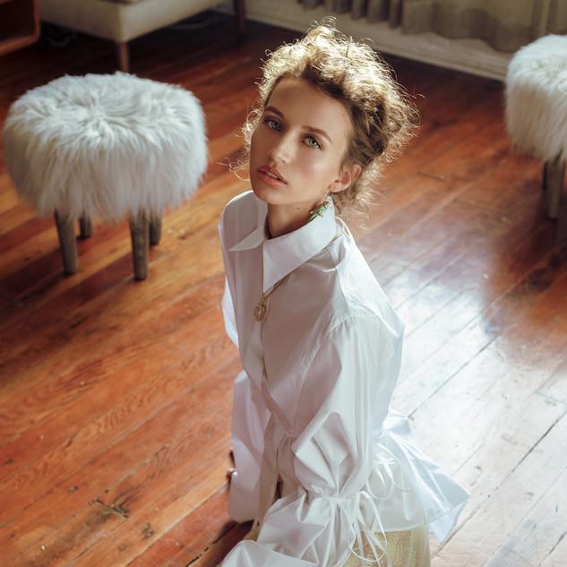 Make-Up: Joanne Kim Photographer: Ty Chen Models: Sophia Rosene Wardrobe: Allison Victoria