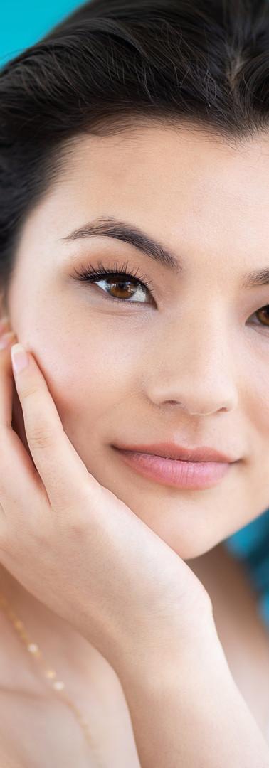 Make-Up: Joanne Kim Photographer: James Korin Muse: Sarah Lynn Furman Brand:Love & Chambray Location: Shoreline Village