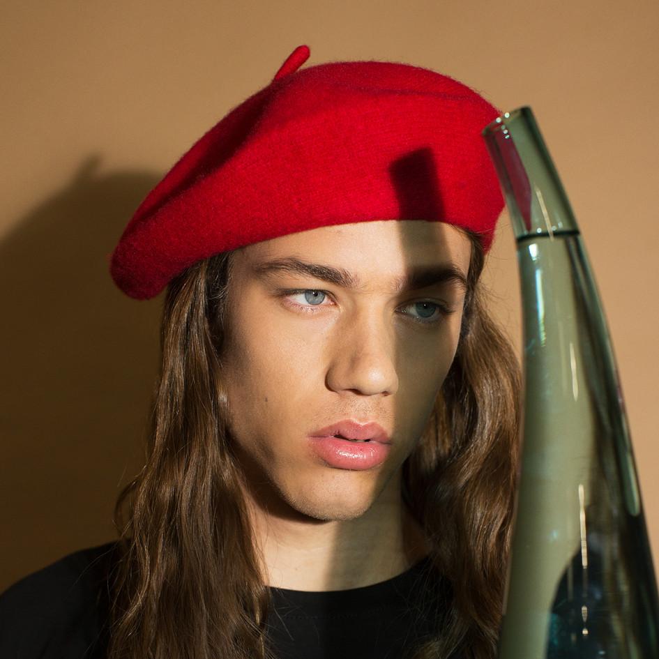Make-Up: Joanne Kim Model: Daniel Hivner Photographer: Elaine Torres