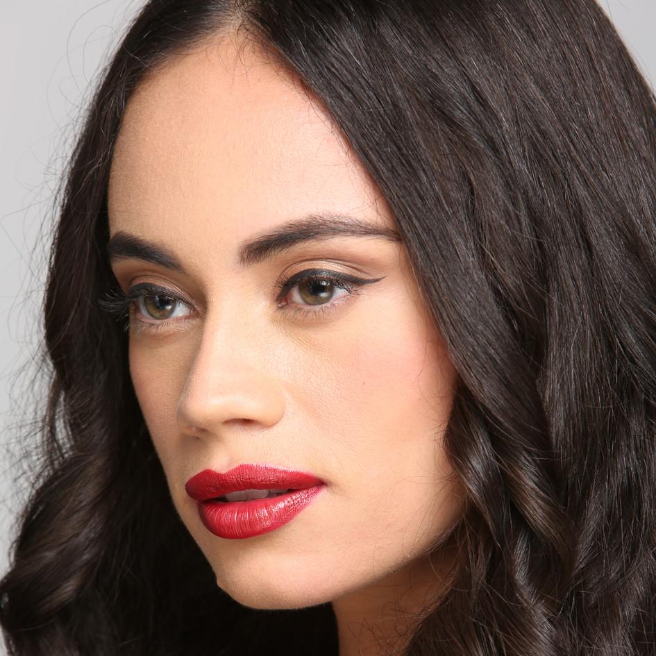 Make-Up: Joanne Kim, Hair: Haley Kang,  Model: Natalia Brito (Aston Models),  Photographer: Joyce ONeal