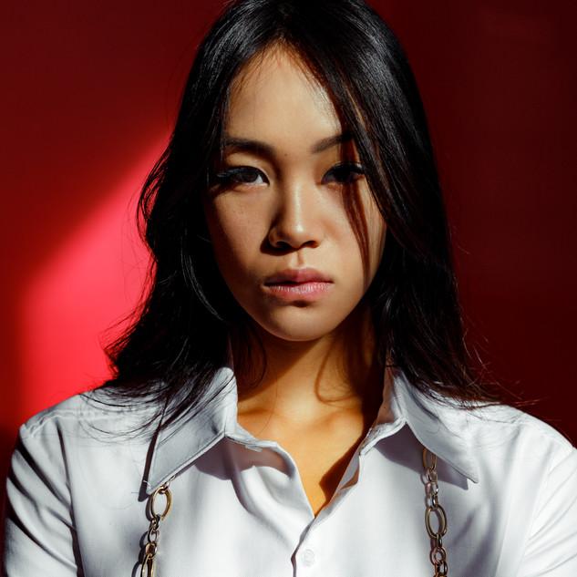 Make-Up: Joanne Kim Muse: Chloe Yu Photographer: Ana Saavedra