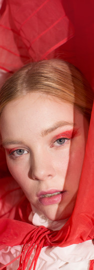 Make-Up: Joanne Kim Muse: Katie Phillips Photographer: Elaine Torres