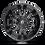 Thumbnail: Sledge D596 - Matte Black / Gloss Black Lip