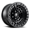 Thumbnail: Zephyr D101 Beadlock - Matte Black w/ Matte Black Ring