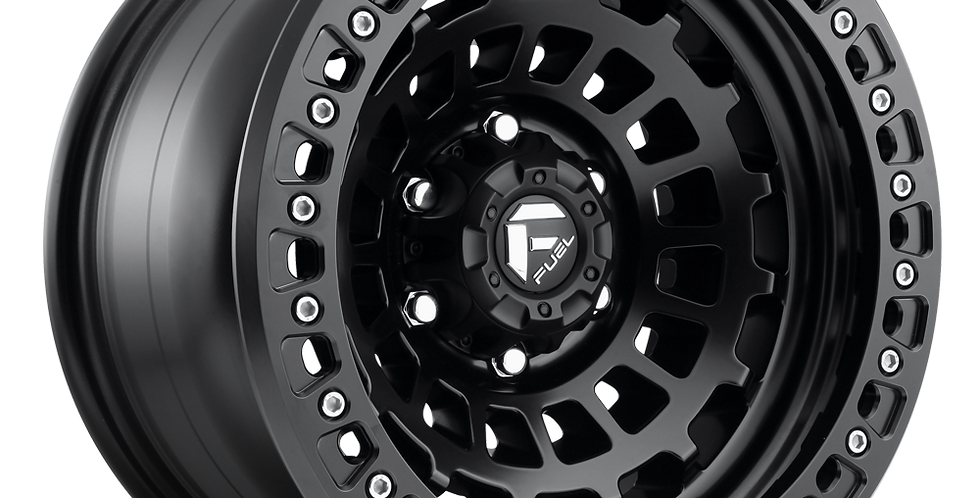 Zephyr D101 Beadlock - Matte Black w/ Matte Black Ring