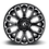 Thumbnail: Warrior D607/D623 - Gloss Black & Milled